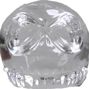 Nightmare Before Christmas Paperweight Glass